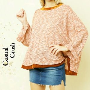 Tops - Summer Knit High Low Raw Top